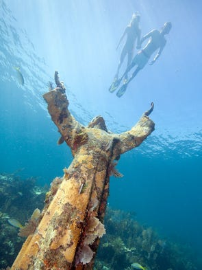 "Florida Keys ""Christ of the Abyss"""