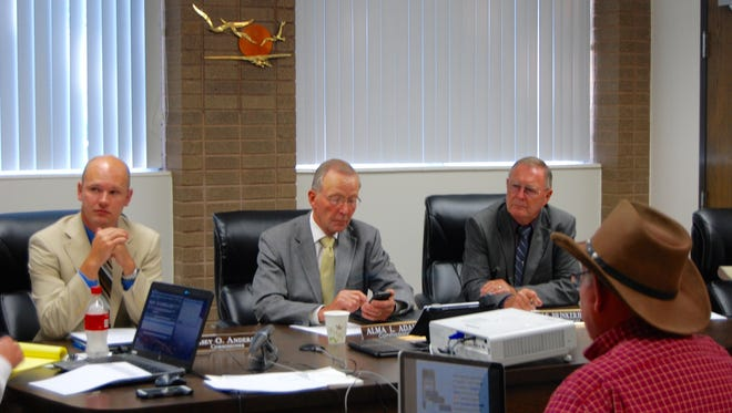 On Tuesday, July 19, 2016, the Iron County Commission voted to table a measure to ask voters whether to approve a .25 percent non-food related sales tax increase in the upcoming general election.