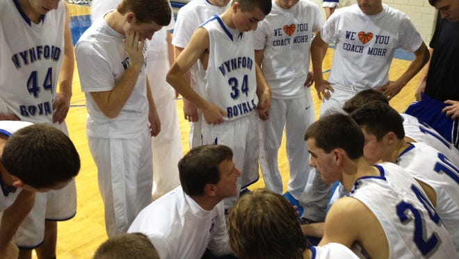 Steve Mohr coached Wynford the 2013-14 season before being forced to step down due to health issues.