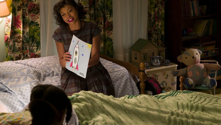 Math genius Katherine Johnson (Taraji P. Henson) is key to America staying competitive in the Space Race in 'Hidden Figures.'