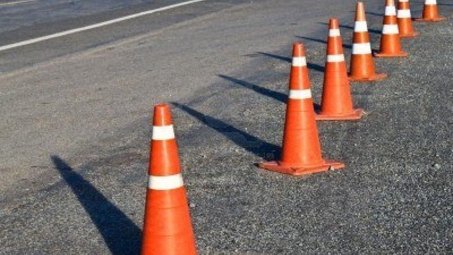 Due to the repair work, there is a single lane for northbound and also for southbound traffic on Interstate 15 at Jefferson City.