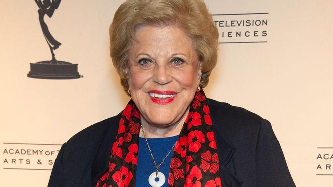 """Kaye Ballard attends The Academy Of Television Arts Presents 'Retire From Showbiz? No Thanks!' in this January 31, 2013 file photo in North Hollywood. A friend says that actress Kaye Ballard, co-star of the TV series """"The Mothers-in-Law,"""" has died. She was 93."""
