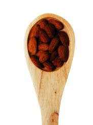 Almonds are a great choice for a healthy snack.