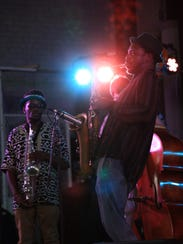 Shabaka and the Ancestors performed at the Harro East