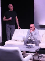 Garry Peter Morris, left, plays Serge and Philippe