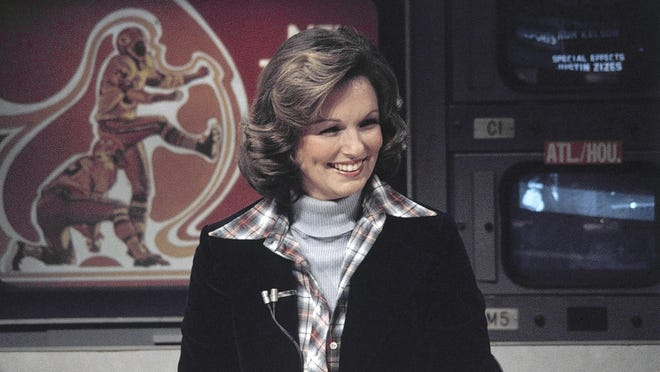 "CBS sportscaster Phyllis George became a female sportscasting pioneer on CBS's ""The NFL Today"" died Saturday at the age of 70 after a long fight with a blood disorder."