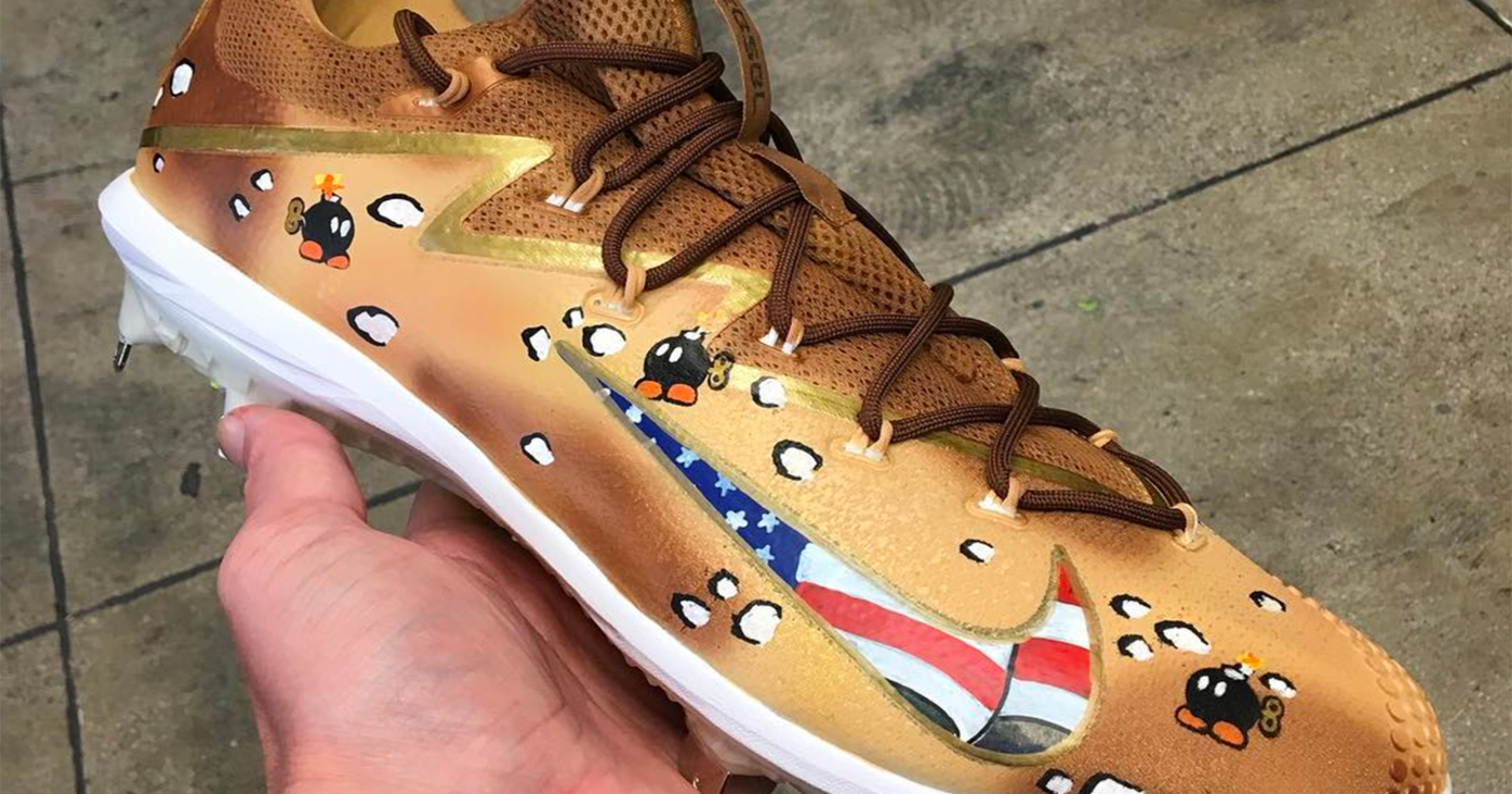766f5c51cd1 See custom Memorial Day cleats MLB players