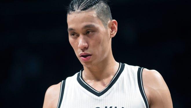 Brooklyn Nets guard Jeremy Lin