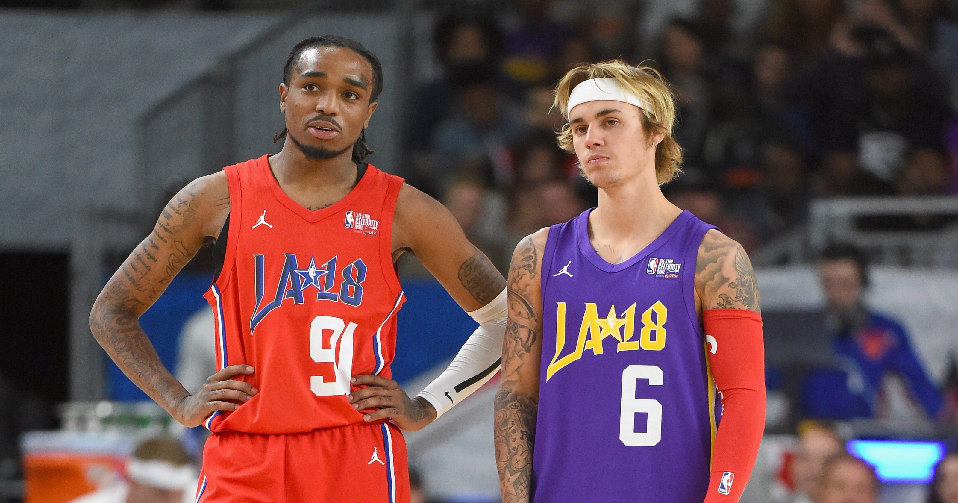 Watch Quavo score a layup on Justin Bieber in Celebrity Game 5b393a04b