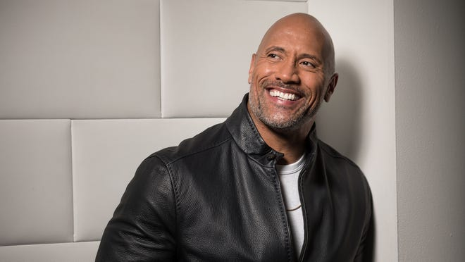 Dwayne Johnson is a new dad, which forced him to miss promoting his new film 'Skyscraper' at CinemaCon this week.