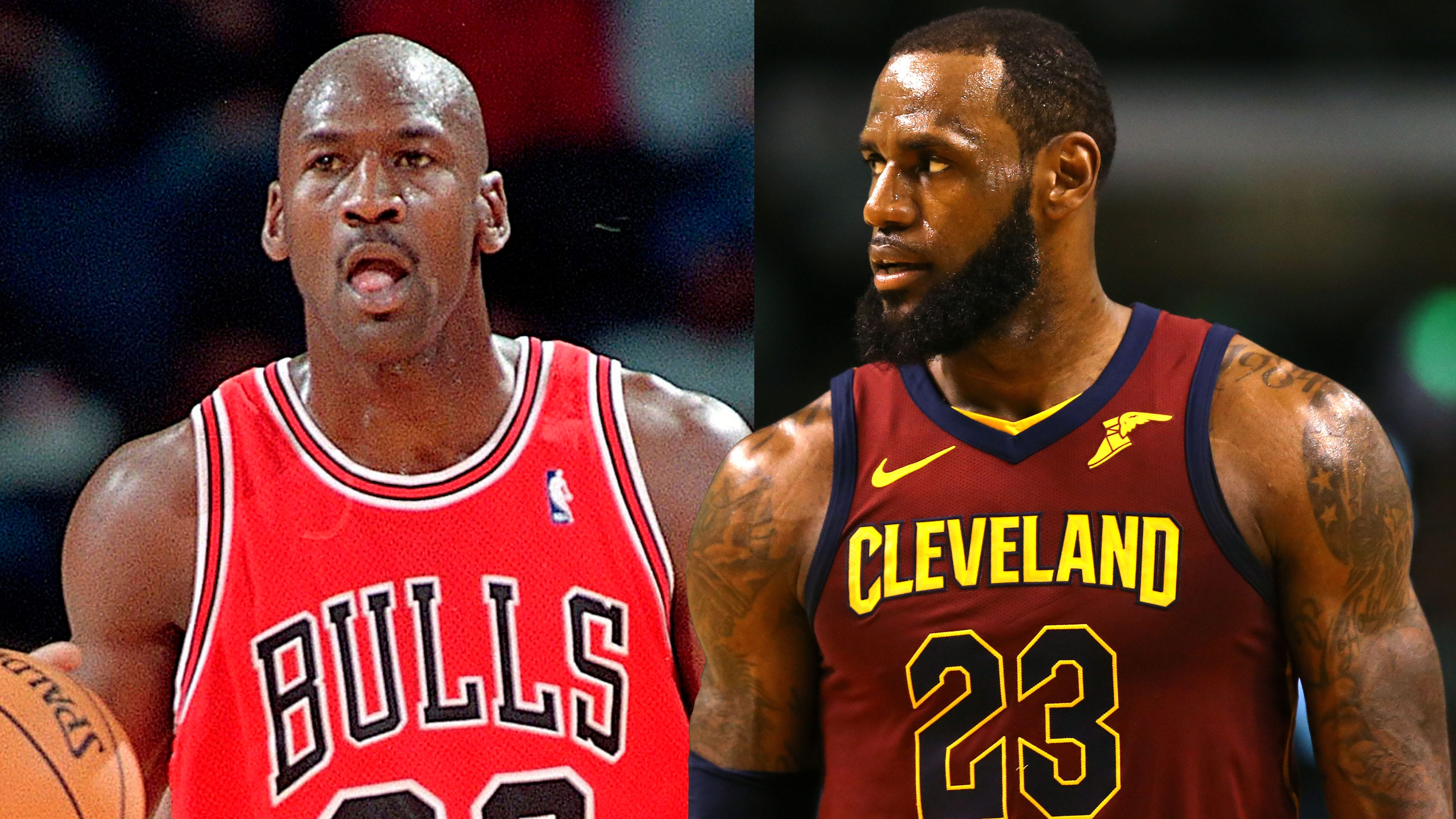 Instrumento Superioridad Tacto  Why LeBron James is the G.O.A.T., not Michael Jordan