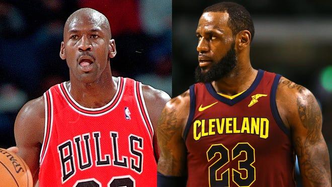 The Michael Jordan vs. LeBron James debate will never end.