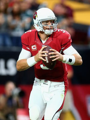 Carson Palmer has thrown for at least 250 yards and two TDs in every game he's played this season.