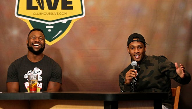 Green Bay Packers wide receiver Ty Montomgery hosted Monday's Clubhouse Live in downtown Appleton. Montgomery's guest was cornerback Damarious Randall. Watch the show at clubhouselive.com.