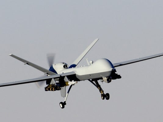 Reaper Drone deployed