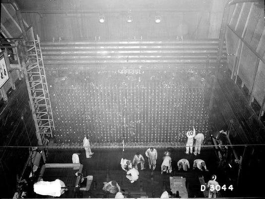 B Reactor at Hanford Nuclear facility