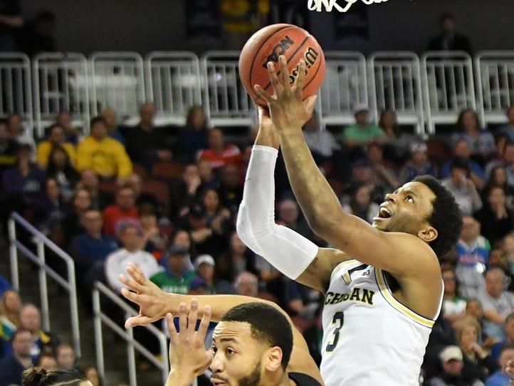 Michigan guard Zavier Simpson has been stellar on the