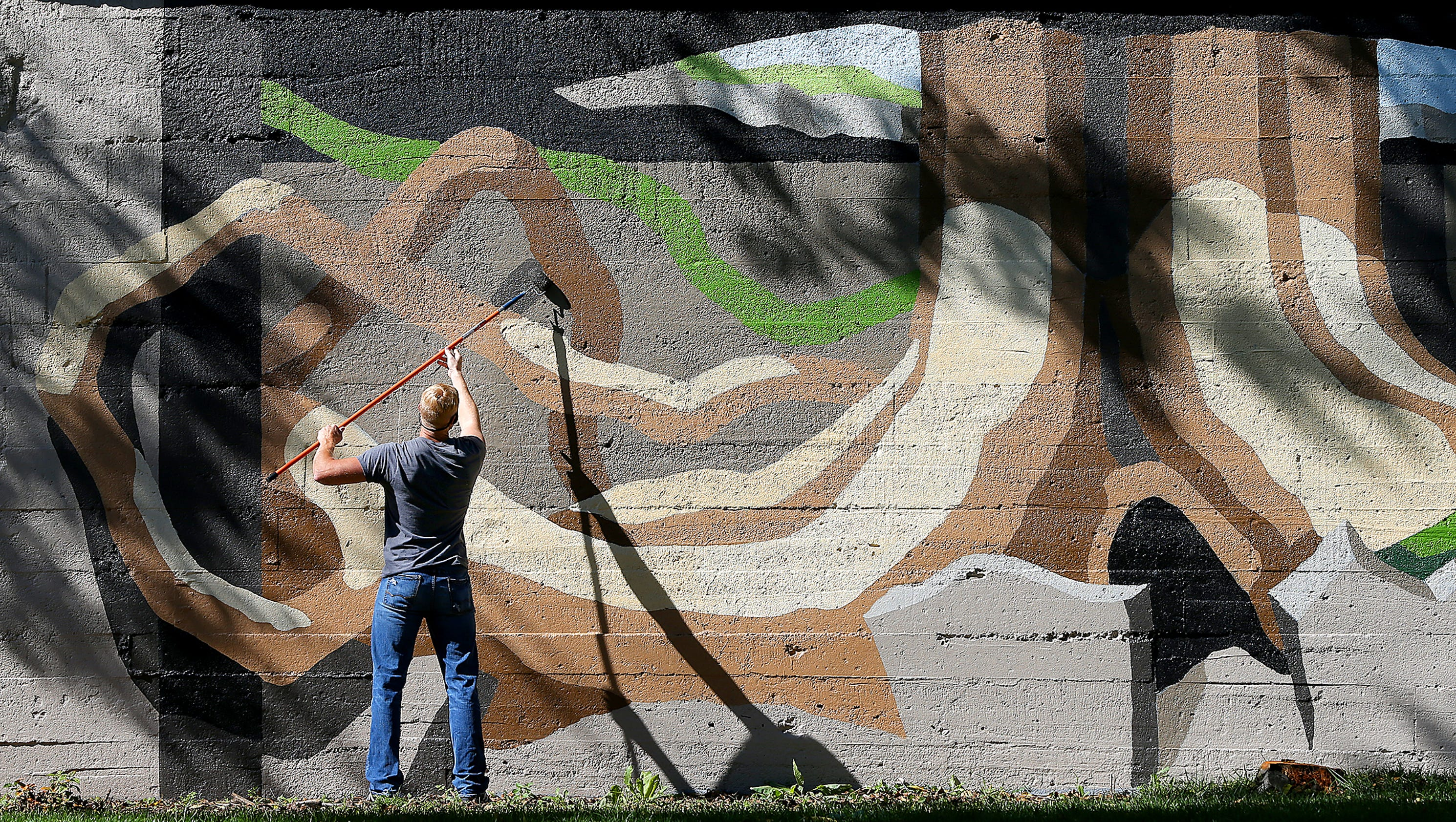 public murals in and near indianapolis