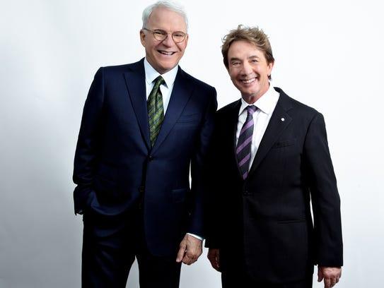 Comedy legends Steve Martin and Martin Short