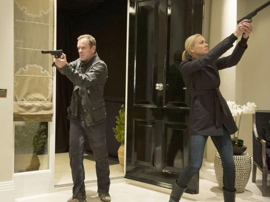 """Jack Bauer's (Kiefer Sutherland, with Yvonne Strahovski) latest day came to an end as """"24: Live Another Day"""" reached its season finale."""