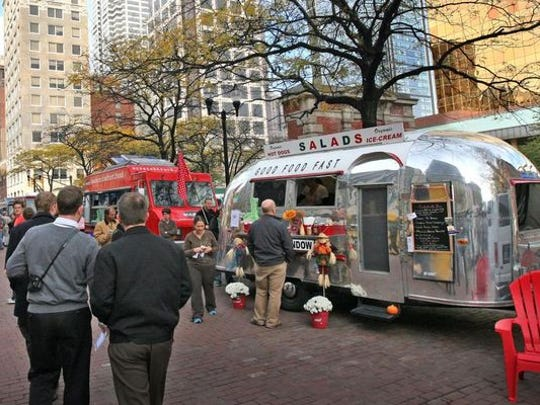 Each Friday, a cluster of the city's most popular food trucks gathers on Georgia Street between Capitol Avenue and Illinois Street for Food Truck Friday.