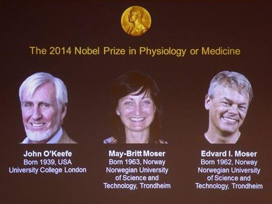 nobel prizes medicine