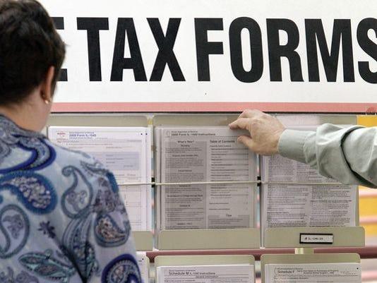 Taxes stock