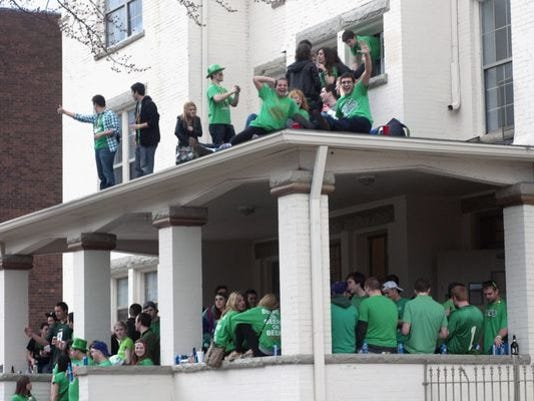 St Patricks Day House Party - Robert K O'Daniell AP