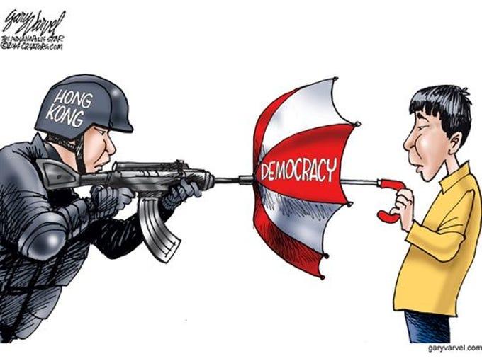 Umbrella democracy