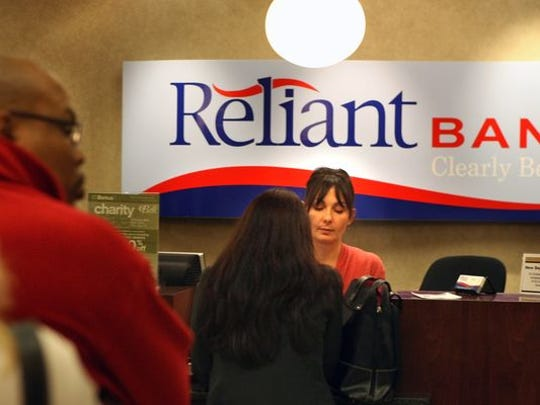 Reliant Bank is based in Brentwood.
