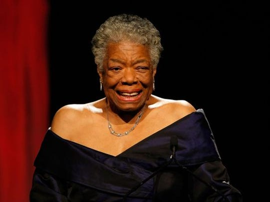 High school dropout Maya Angelou became a poet and symbol of inspiration.