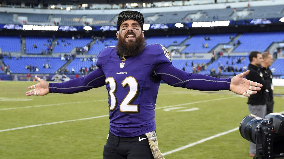 Ravens DB eats gallon of ice cream after wins
