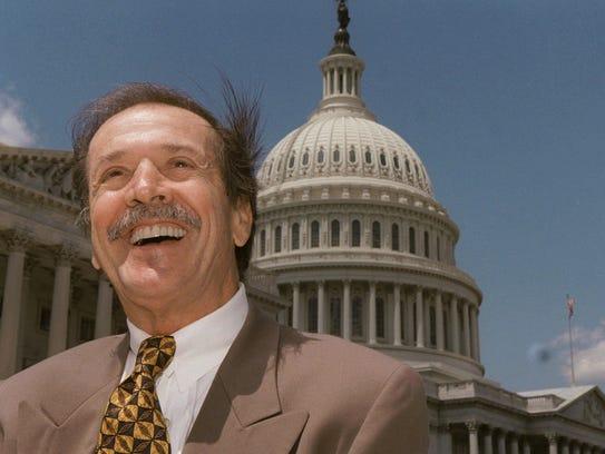 The Republican half of Sonny & Cher, Sonny Bono (seen