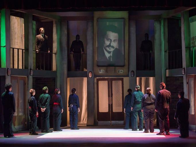 Members of the Performing Arts Department at Pensacola