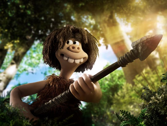 Dug (voiced by Eddie Redmayne) goes hunting in 'Early