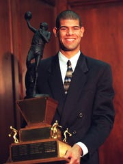 Shane Battier, of Birmingham Detroit Country Day, in 1997.