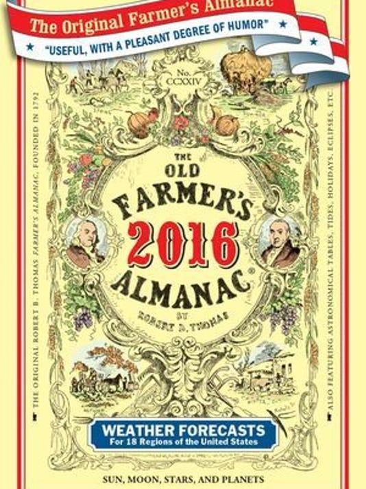 Old Farmer's Almanac 2016