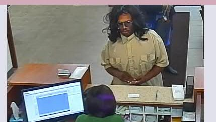 Police are searching for this man, who is the suspect in a robbery at U.S. Bank, 2323 N. Mayfair Road.