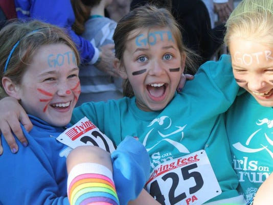 Girls on the Run helps teach fitness at a young age. SUBMITTED