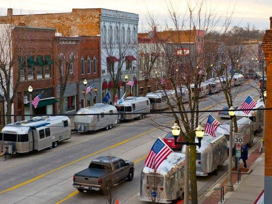 """Urban Air,"" a gathering of Airstream travel trailer owners, is a popular annual event in Eaton Rapids."