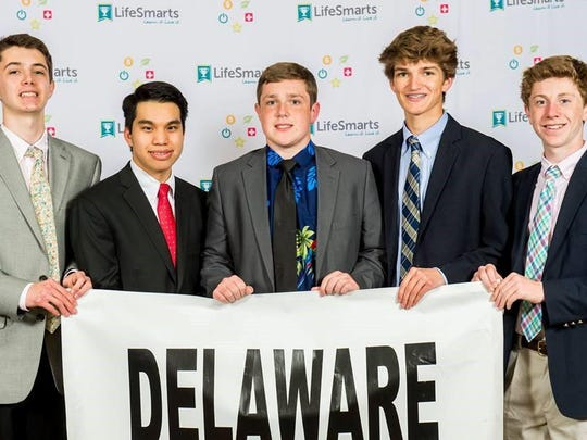 Salesianum's Lifesmarts Team took home fourth place out of 1,500 teams national at championships.