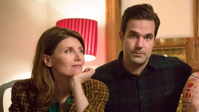 A still from Season 1 of 'Catastrophe,' which was created by and stars Sharon Horgan (left) and Rob Delaney.