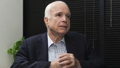 Sen. John McCain in August 2017.