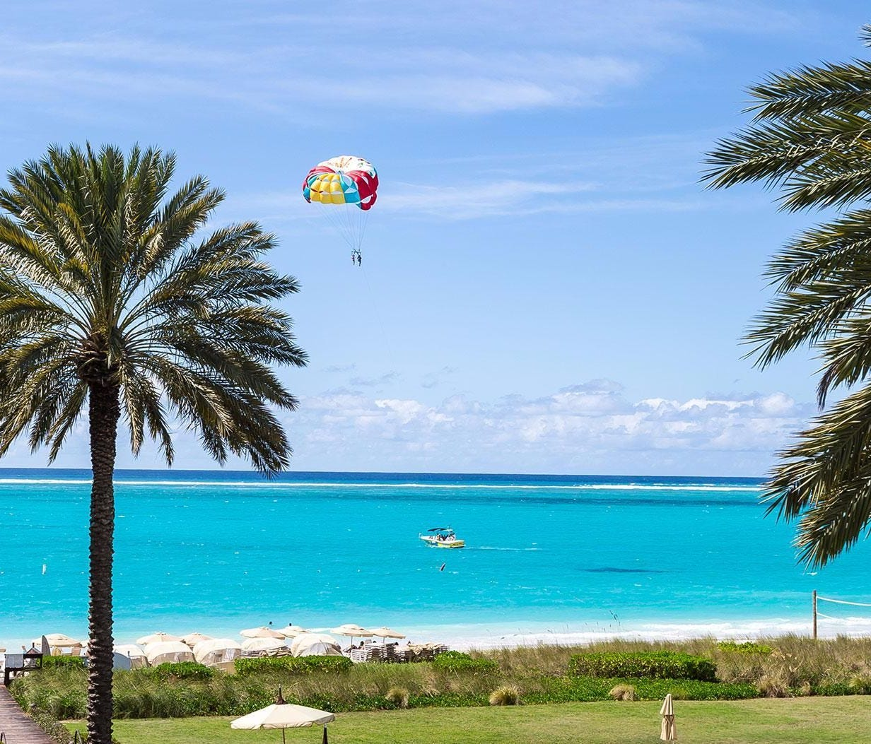 TripAdvisor's top-ranked beach in the world is Grace Bay, Providenciales, Turks and Caicos.   • Beachfront bargain hotel nearby: Ports of Call Resort, from $270 per night on TripAdvisor  • Great airfare found on TripAdvisor: As low as $364 round-trip f