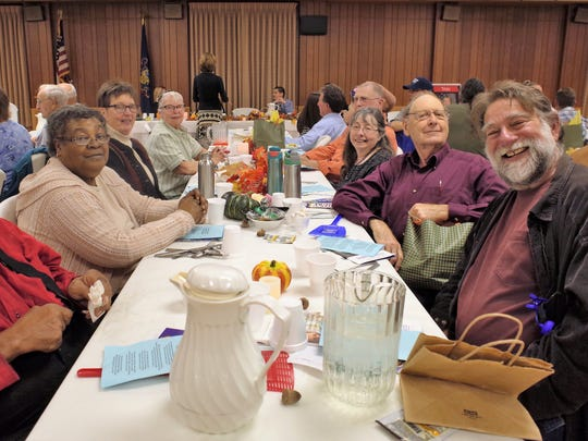 Fulton County Democrats at the annual Democratic dinner last weekend.