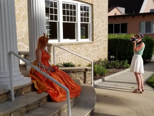 Cosplayer Jeny Aase, dressed as Princess Magikarp,