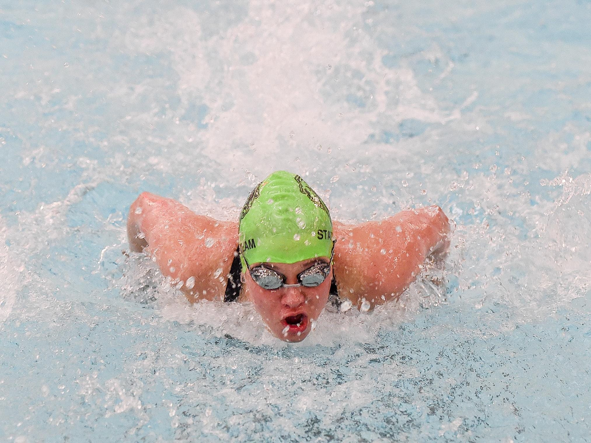 Fossil Ridge High School graduate Bailey Nero took second in the 100 butterfly at the U.S. Junior National Championships. She also finished eighth in the 200 butterfly, 10th in the 400 IM and 11th in the 200 IM.