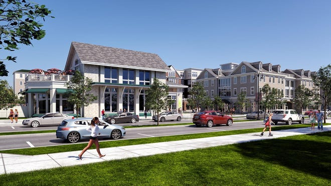 A rendering of the Pinnacle North Project in Canandaigua.