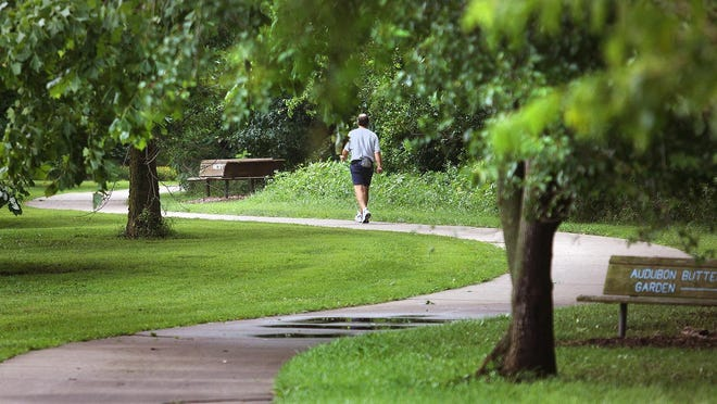 The Shunga Trail is one of the many hiking, walking, jogging and biking trails that can be found in Topeka.