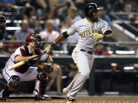 Pittsburgh Pirates right fielder Gregory Polanco